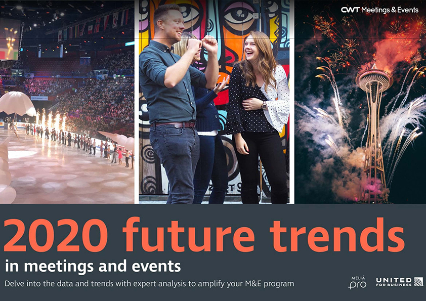 CWT Meetings & Events 2020 Future Trends Report cover